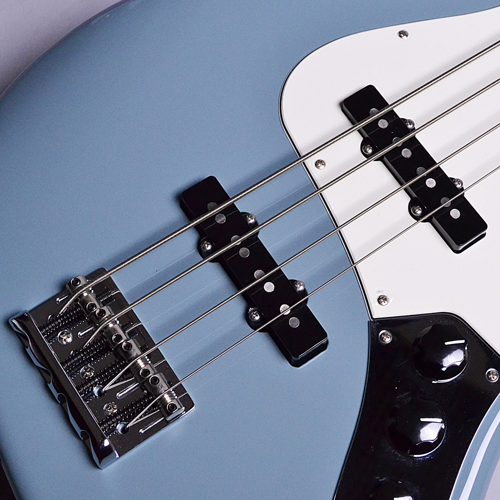 Fender American Professional Jazz Bass Sonic Grayの指板画像