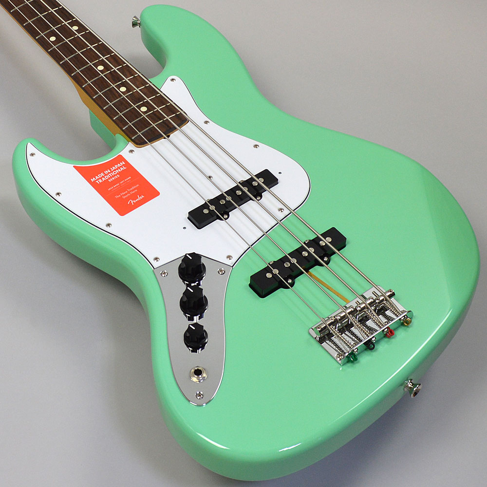 MADE IN JAPAN TRADITIONAL 60S JAZZ BASS LEFT-HANDのボディトップ-アップ画像