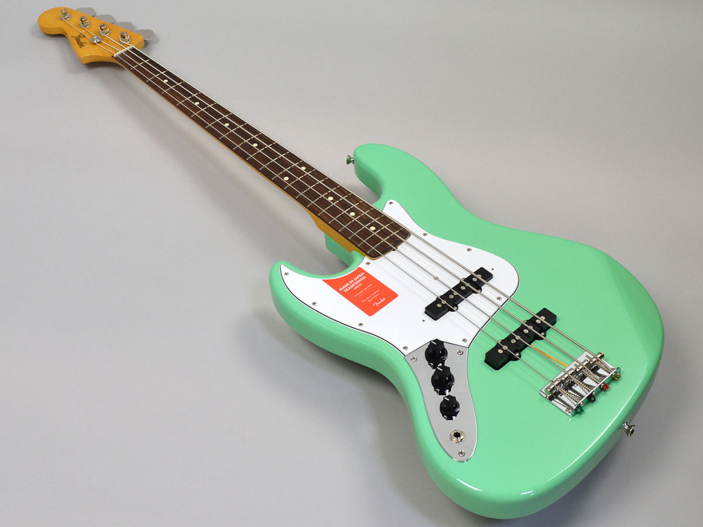 MADE IN JAPAN TRADITIONAL 60S JAZZ BASS LEFT-HAND