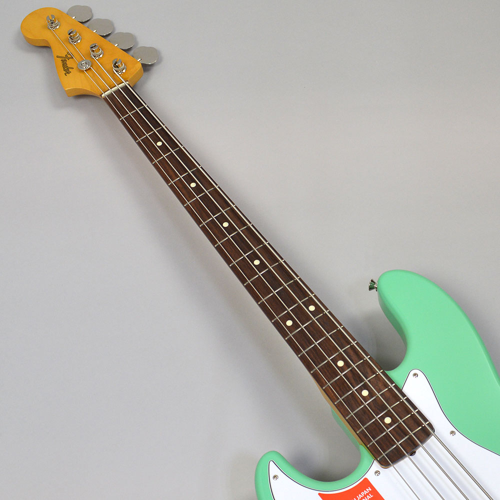 MADE IN JAPAN TRADITIONAL 60S JAZZ BASS LEFT-HANDの指板画像