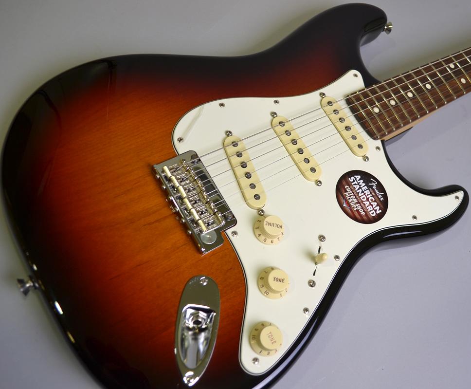 American Standard Stratcaster Rosewood Fingerboad【アメスタ生産終了】
