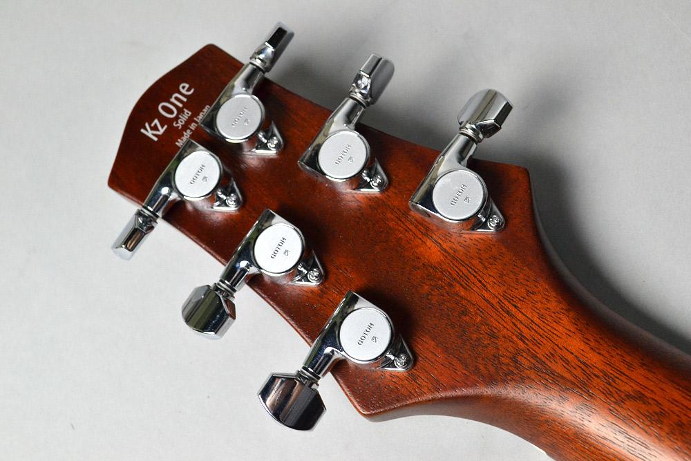 Kz One Solid 3S11 T.O.M Antique Mahoganyのヘッド裏-アップ画像