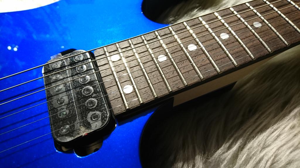 RG521 Jewel Blueの指板画像