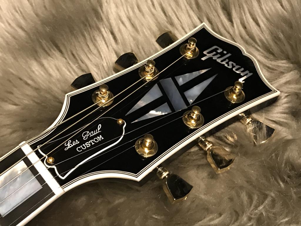 Les Paul Custom 3A Quilt M2Mのヘッド画像