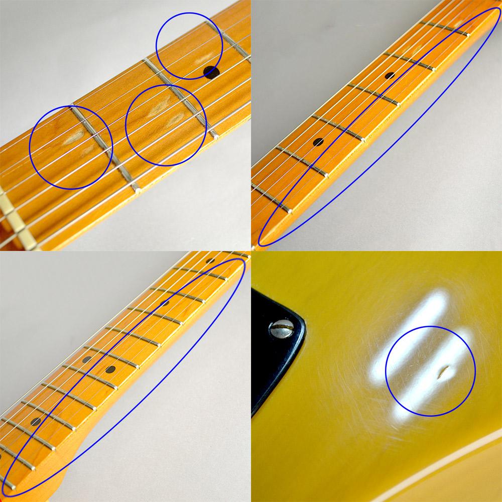 Fender 52Telecaster Butterscotch Blondeの指板画像