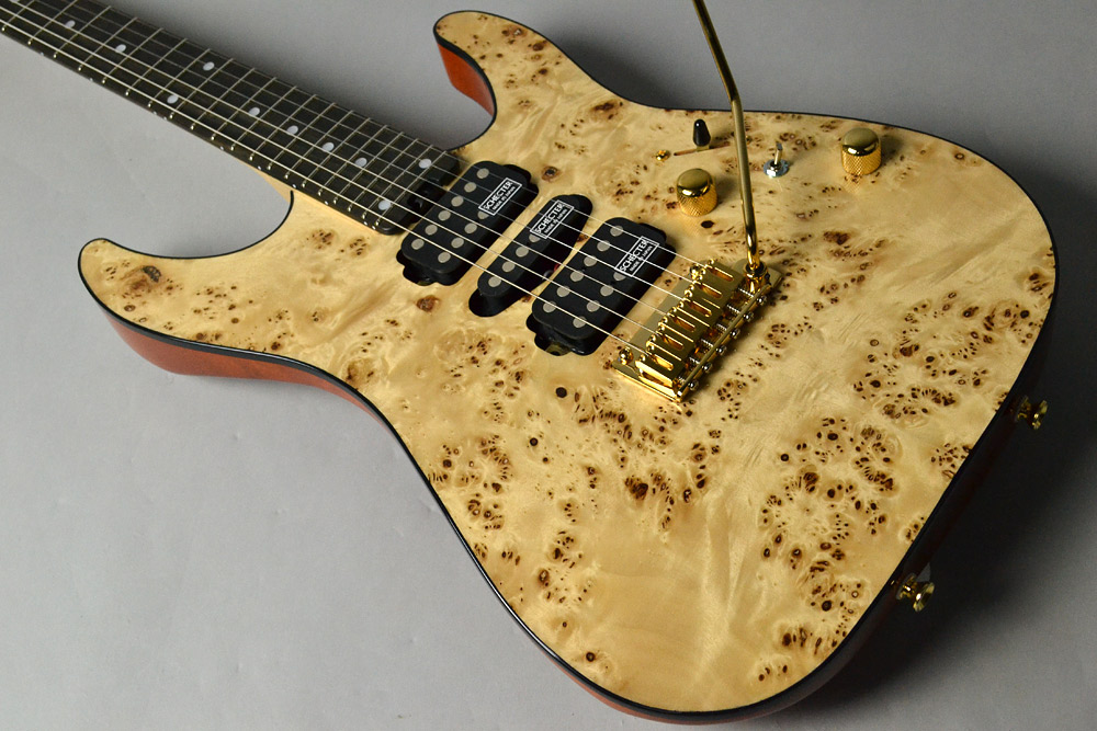 NV-DX-24-MH-VTR/MAPPA BURL/E Gloss Naturalの全体画像(縦)