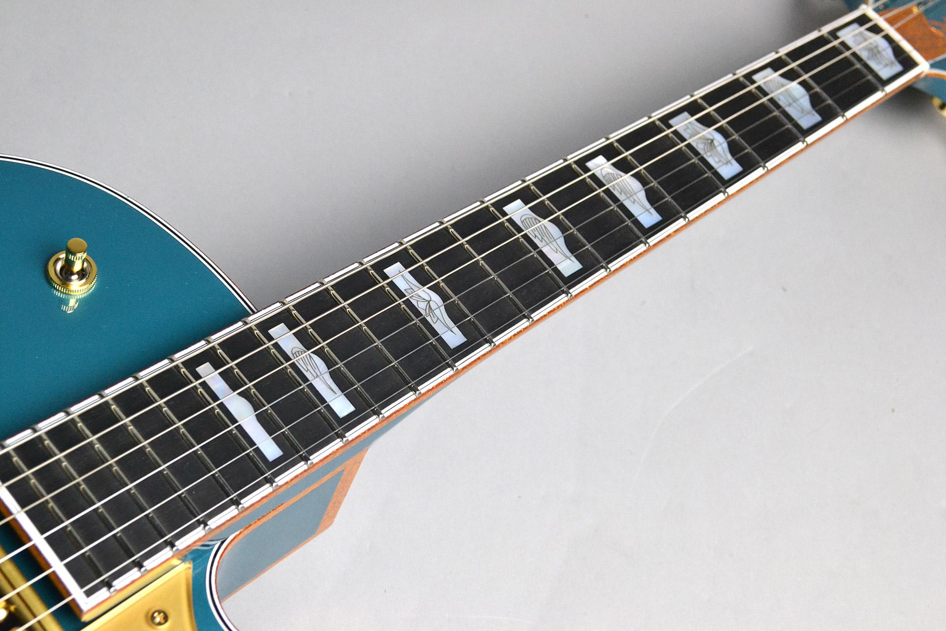"""G6136TTV-FSR OCT JR Falcon™ Jr. """"SKY"""" Ocean Turquoiseの指板画像"""