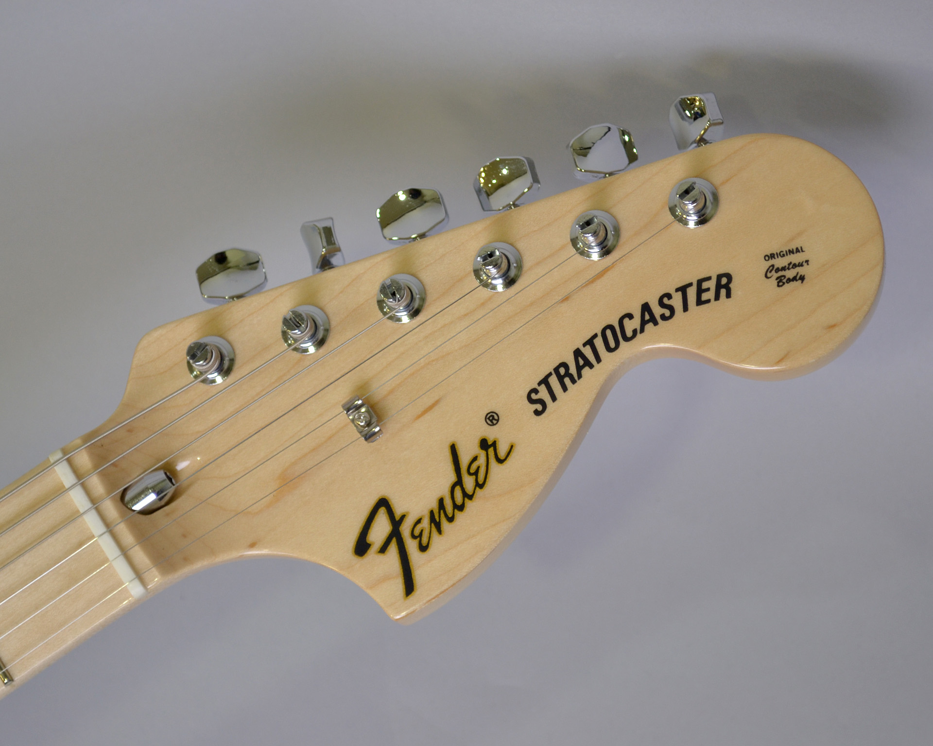 MADE IN JAPAN TRADITIONAL 70S STRATCASTER ASH MAPLEのヘッド画像