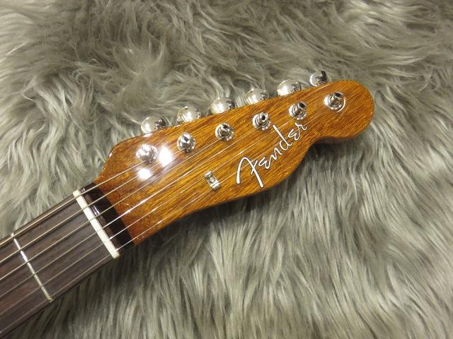 Fender Mahogany Offset TLのヘッド画像