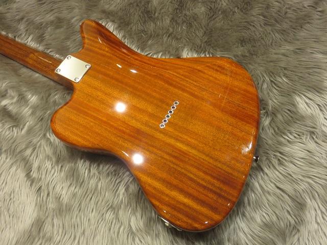 Fender Mahogany Offset TLのボディバック-アップ画像