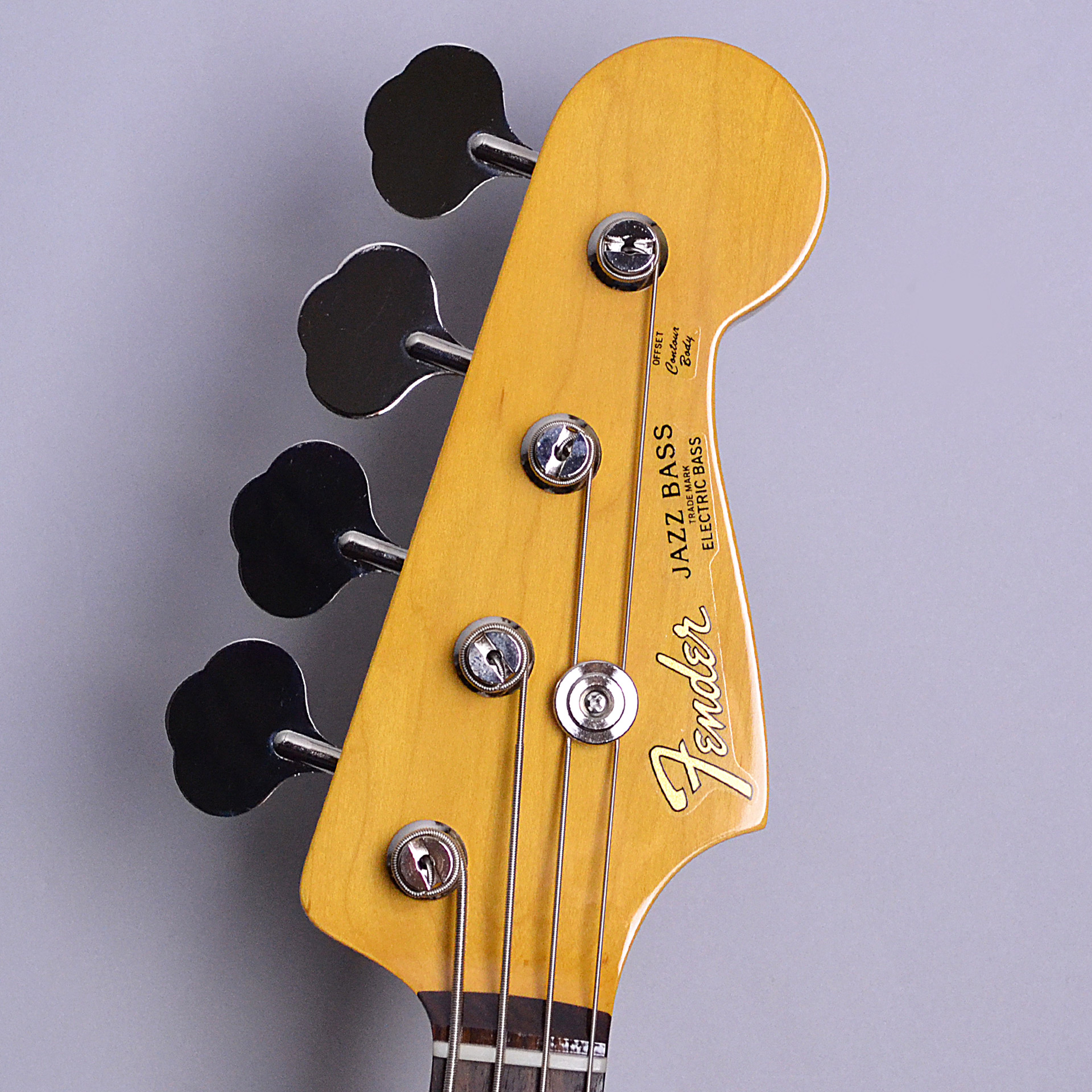 MADE IN JAPAN TRADITIONAL 60S JAZZ BASSのヘッド裏-アップ画像