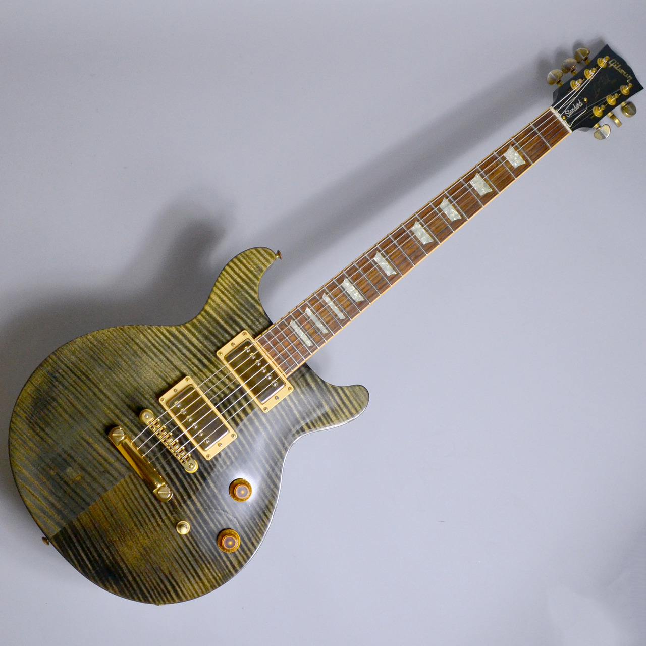 "Les Paul Standard ""DC"" Double Cutawayのボディトップ-アップ画像"