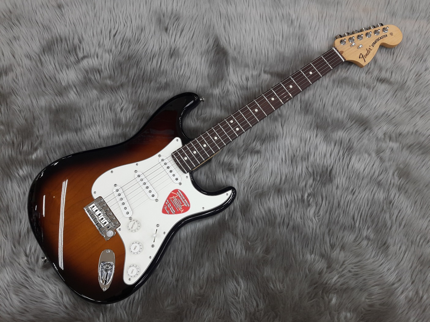 American Special Stratocaster RWのボディトップ-アップ画像
