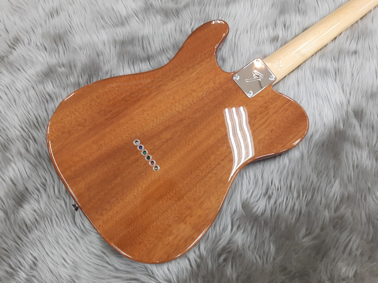 Japan Exclusive Classic 69 Tele Thinline MAHOのボディバック-アップ画像