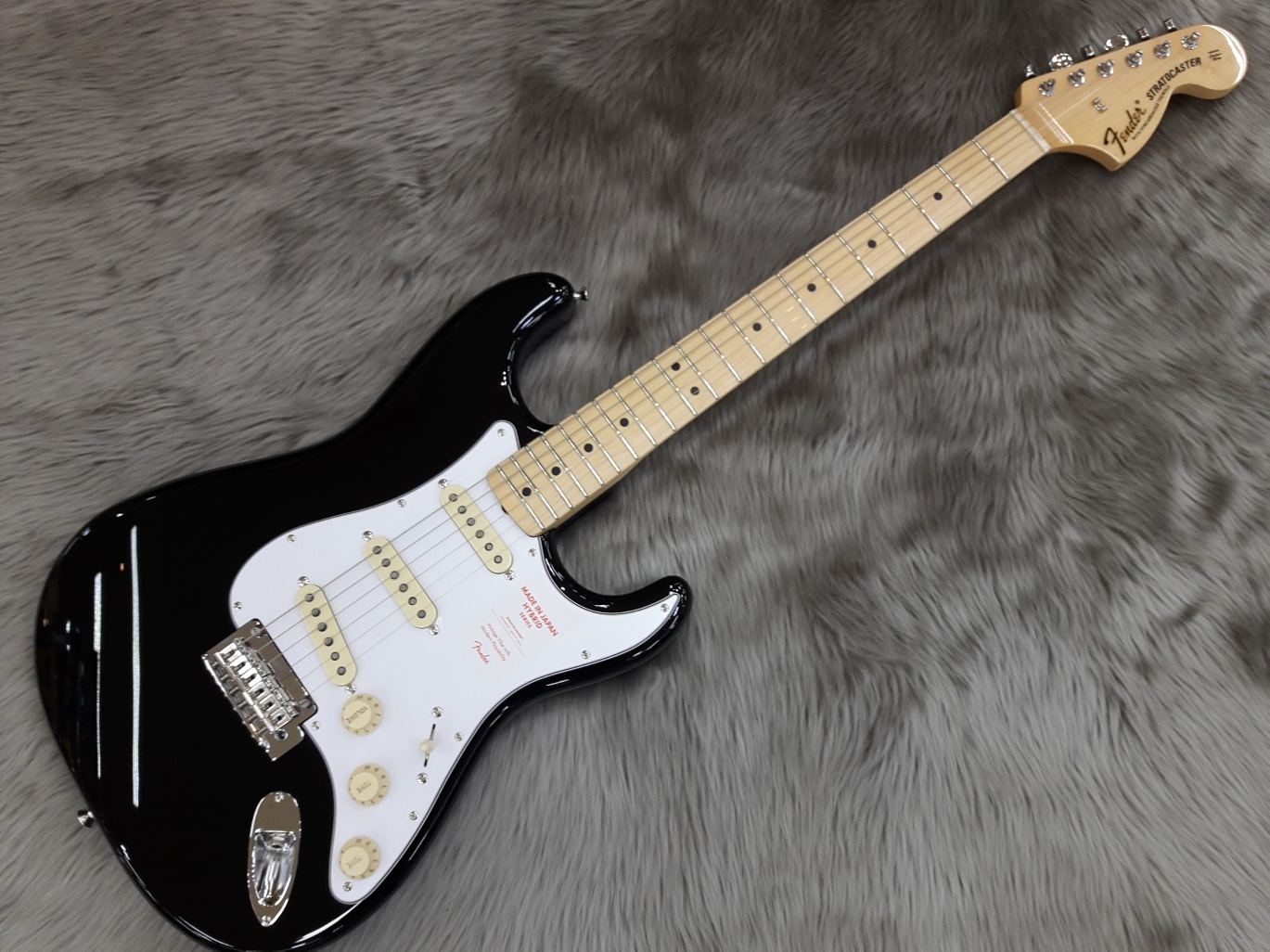 MADE IN JAPAN HYBRID 68 Stratocasterのボディトップ-アップ画像