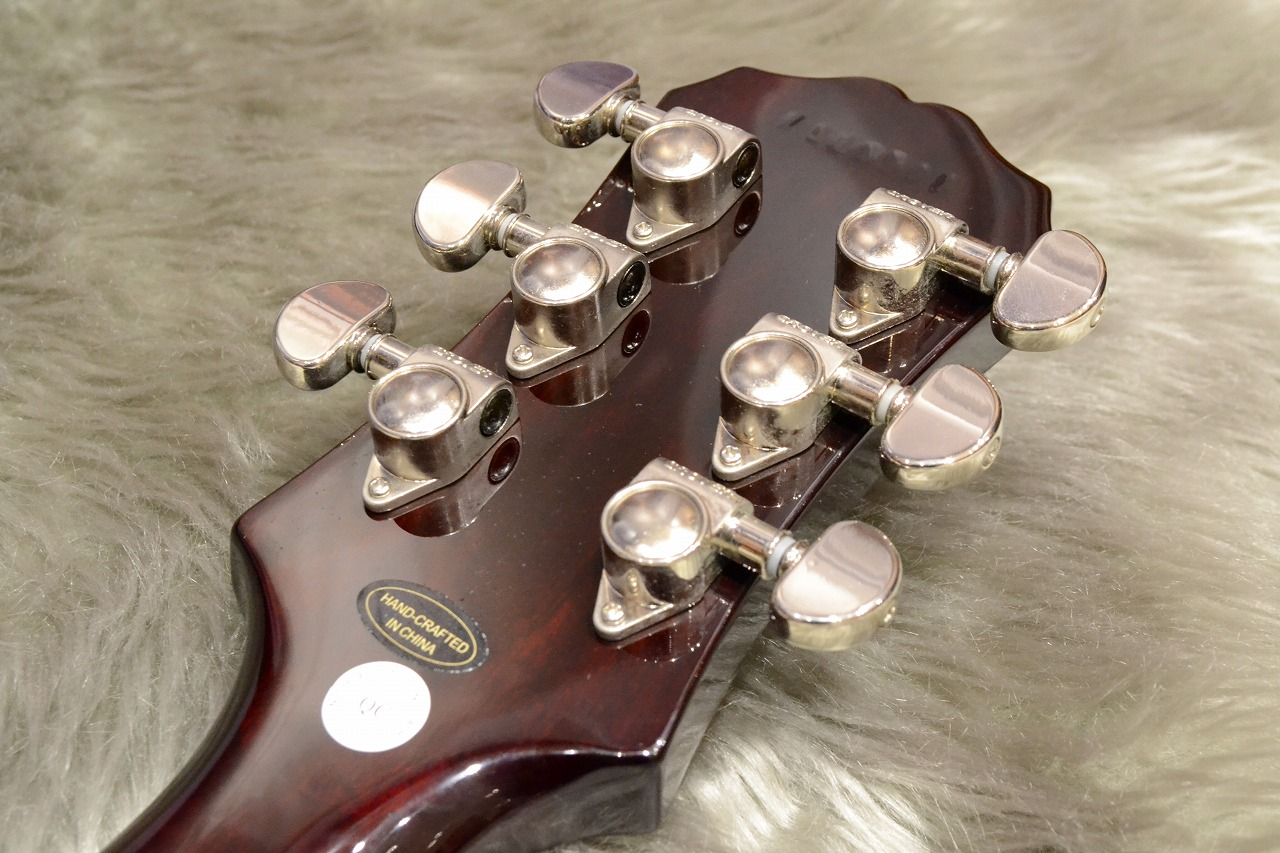 """Les Paul """"TRIBUTE"""" Plus Outfitのヘッド裏-アップ画像"""