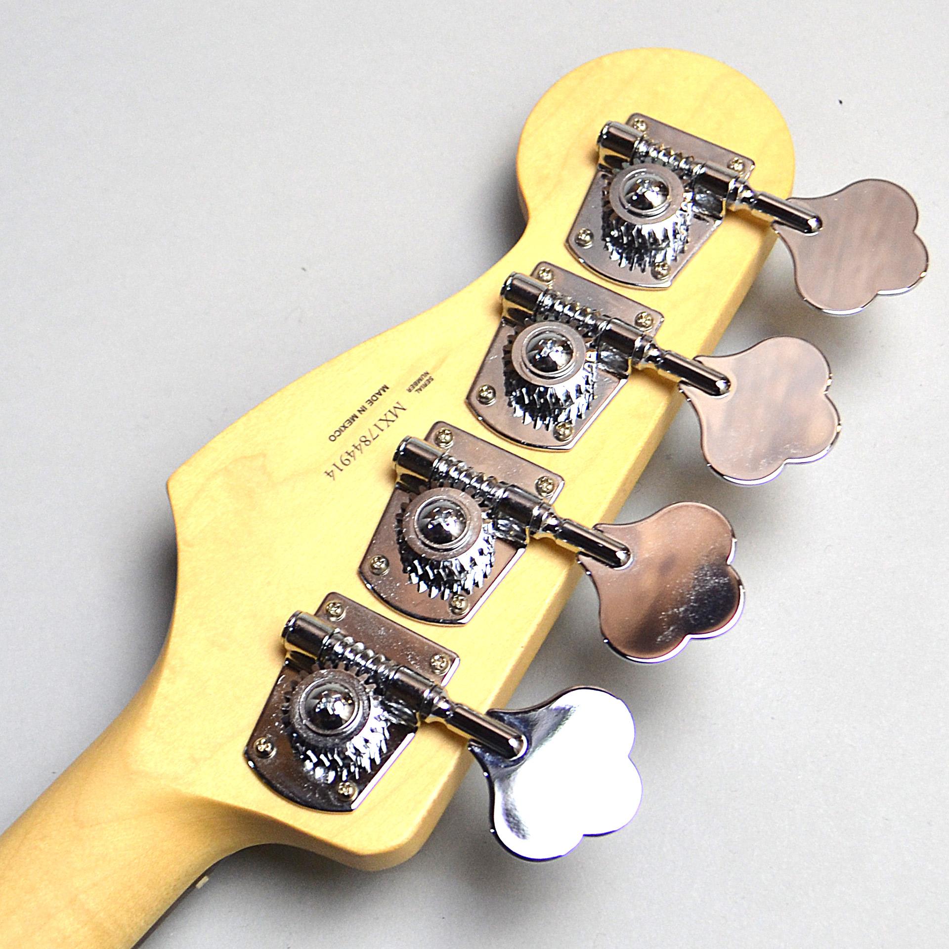 MEX Standard Jazzbassのヘッド裏-アップ画像