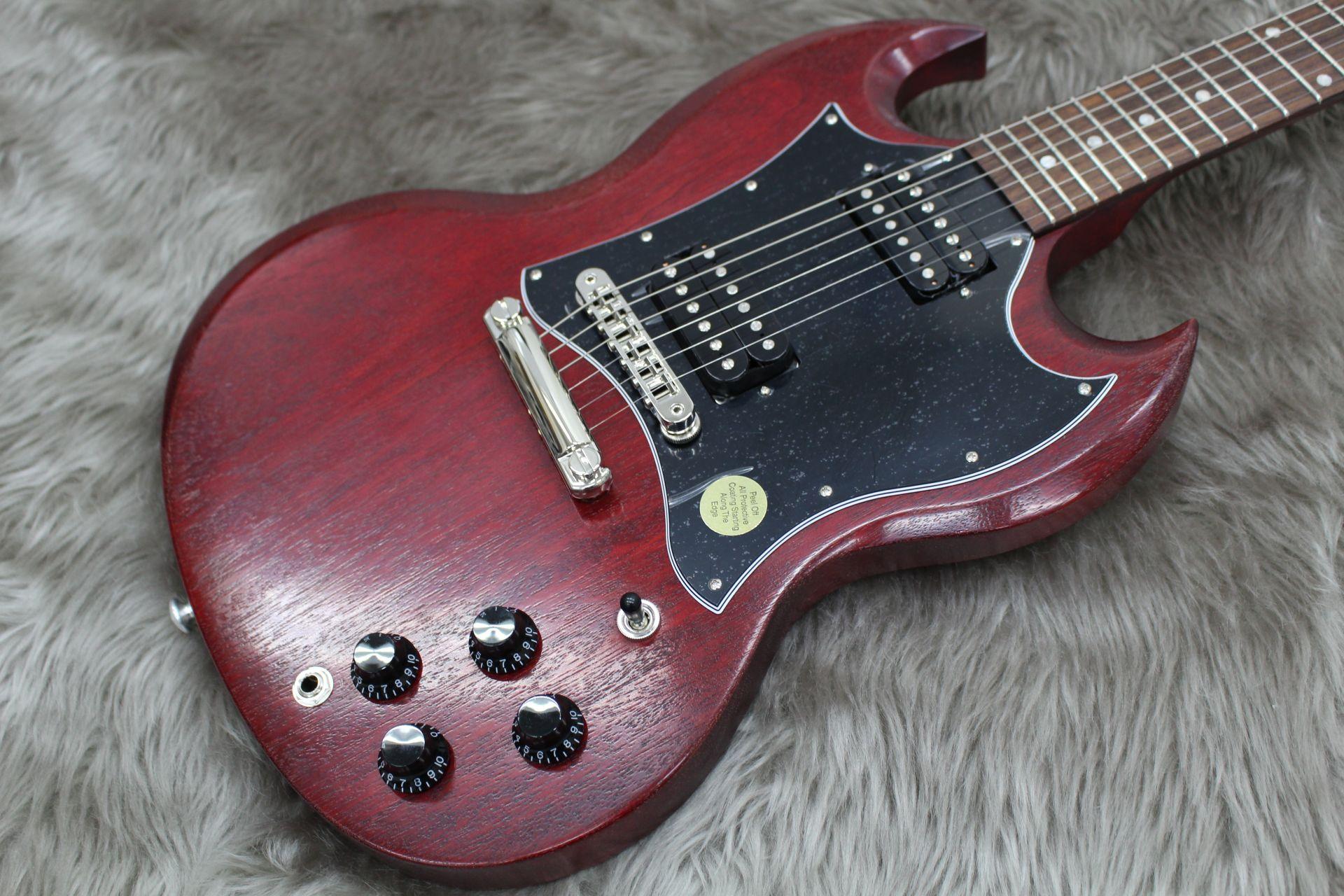 【入荷情報】Gibson – SG Faded 2017 Tのボディトップ-アップ画像