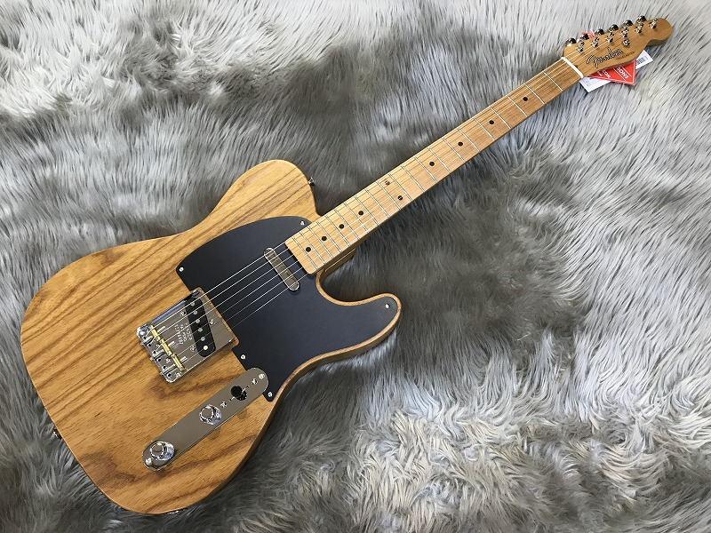 Limited Roasted Ash 52 Telecaster®のボディトップ-アップ画像