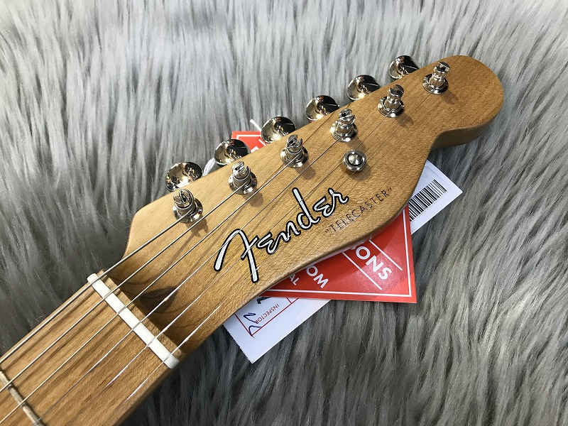 Limited Roasted Ash 52 Telecaster®のヘッド裏-アップ画像
