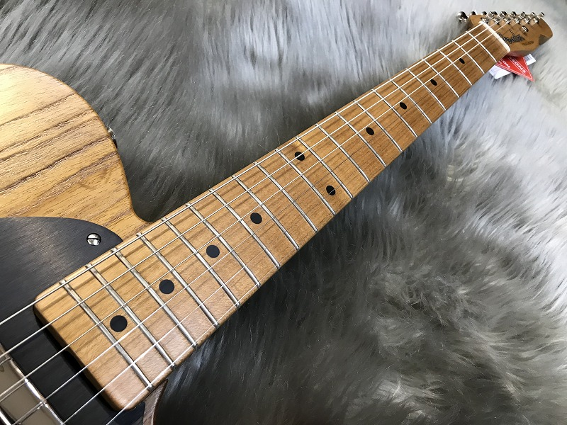 Limited Roasted Ash 52 Telecaster®の指板画像