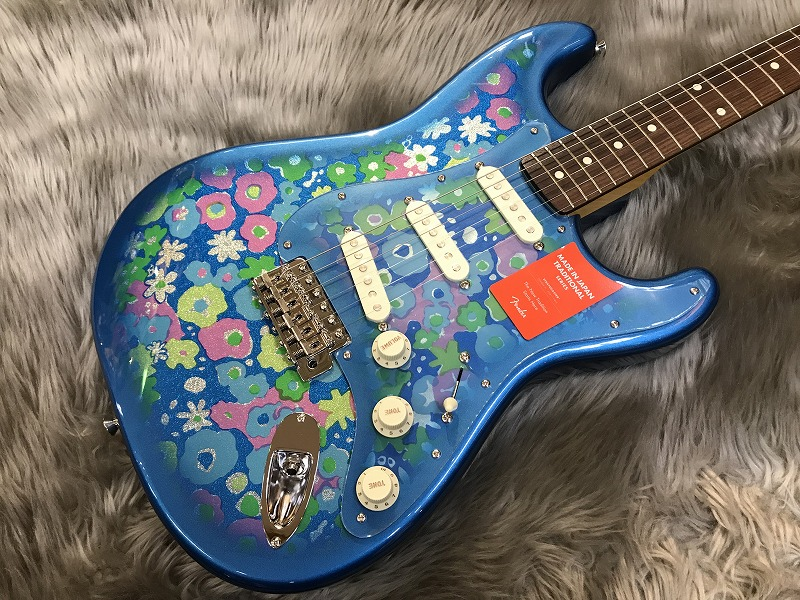 Traditional 60s Stratocaster (Blue Flower)