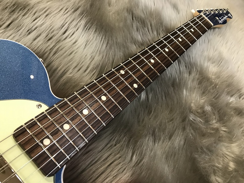 Standard-T 2S Pacific Blue Metallic【2本限定生産】の指板画像