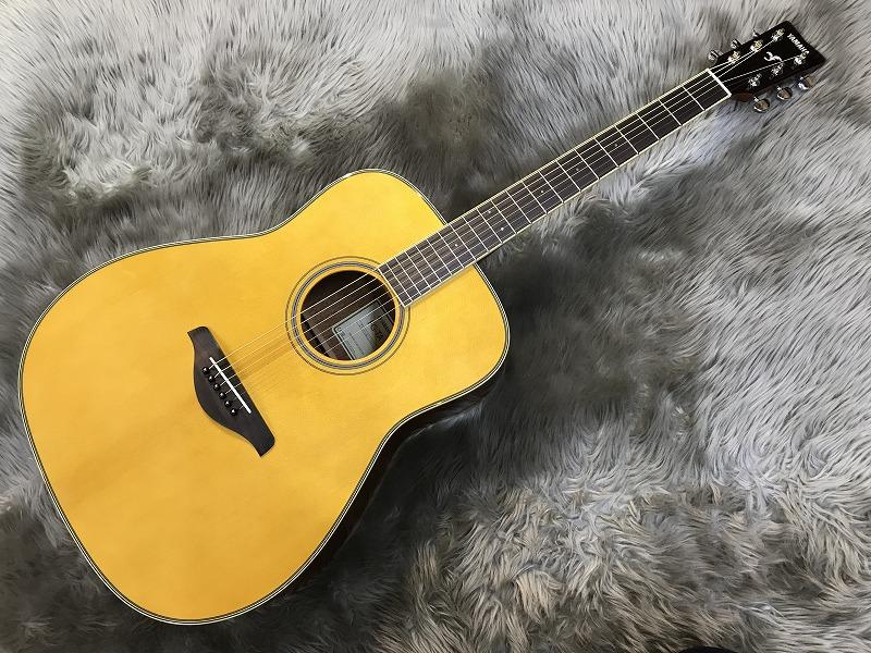 FG-TA トランスアコースティック™ギターのボディトップ-アップ画像