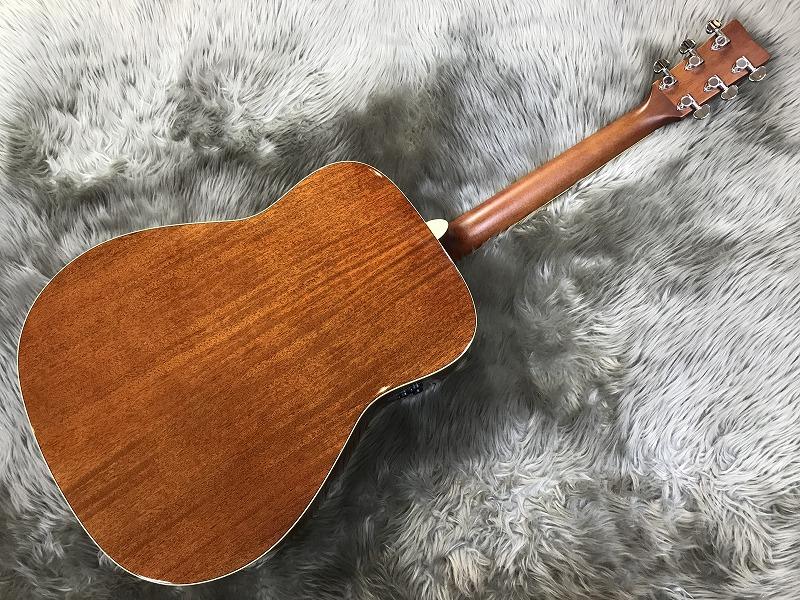 FG-TA トランスアコースティック™ギターのボディバック-アップ画像