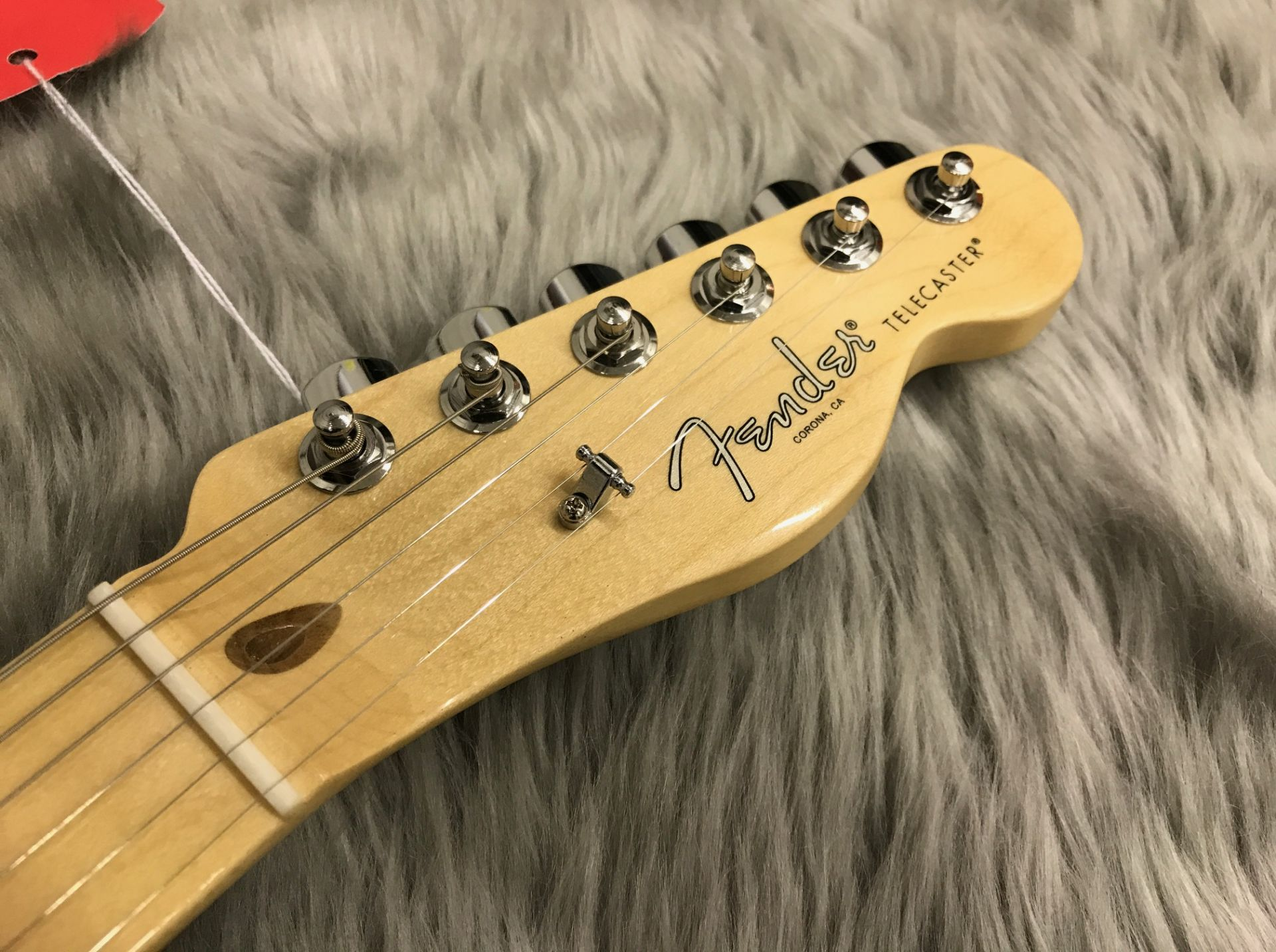 AMERICAN PROFESSIONAL TELECASTER MN ASHのヘッド画像
