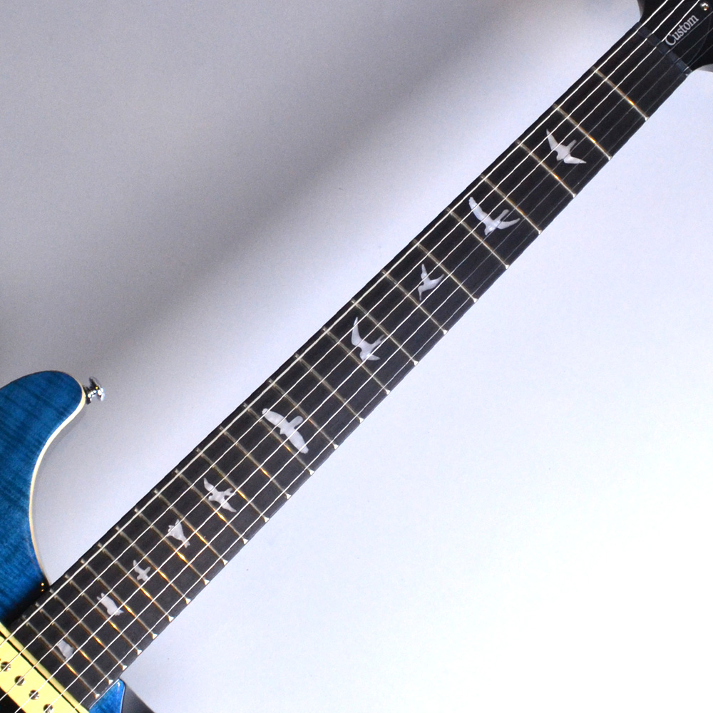 SE CUSTOM 24 N Blue Matteo (BT)【S/N:R15998】の指板画像
