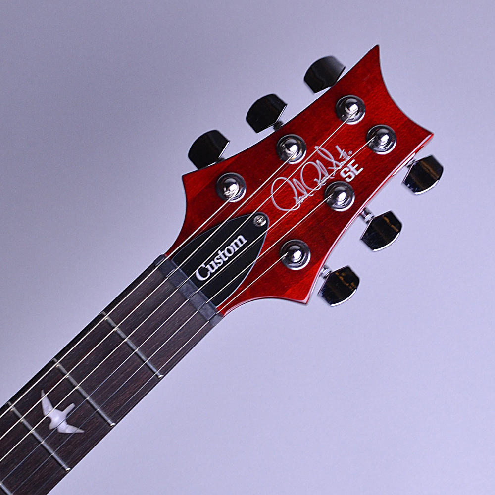 SE CUSTOM 24 N Scarlet Red (SR) 【S/N:R19762】のヘッド画像