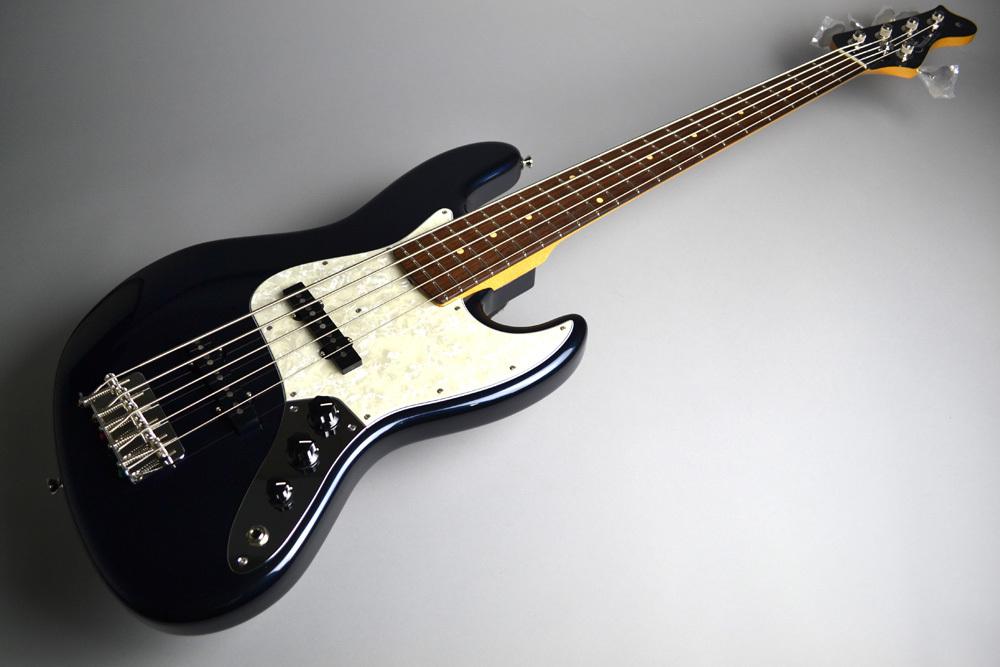 Retro Spective Jazz Bass 5stのヘッド裏-アップ画像