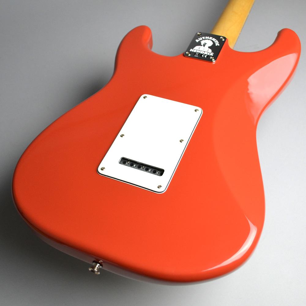 Jimi Hendrix Monterey Stratocasterのヘッド裏-アップ画像
