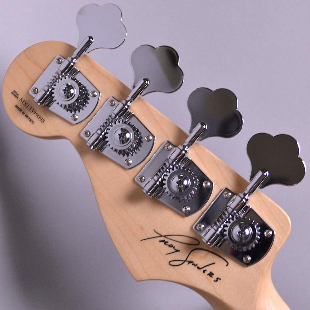 Troy Sanders Jaguar Bass Rosewood Fingerboardの指板画像