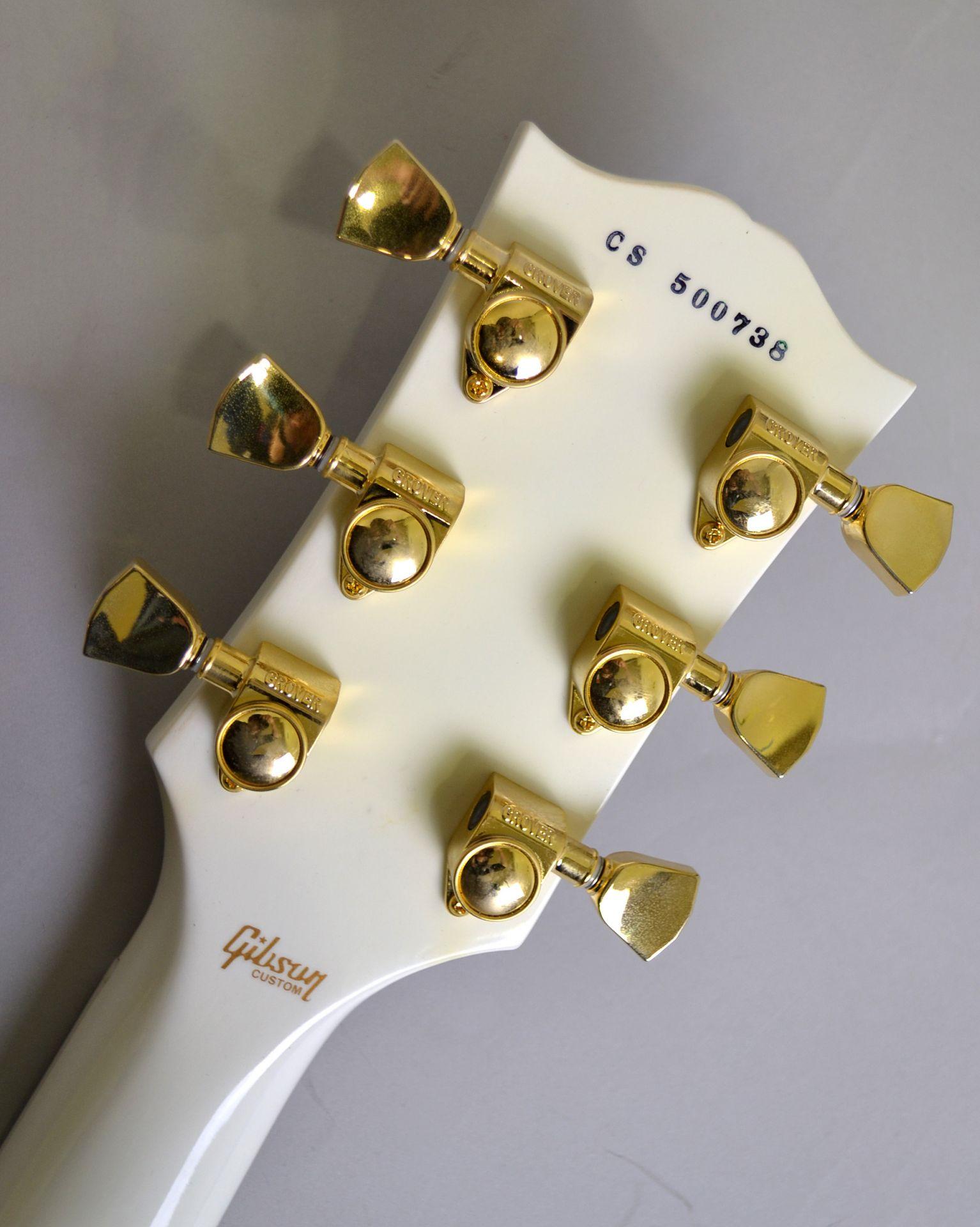 Les Paul Custom【Alpine White】の指板画像