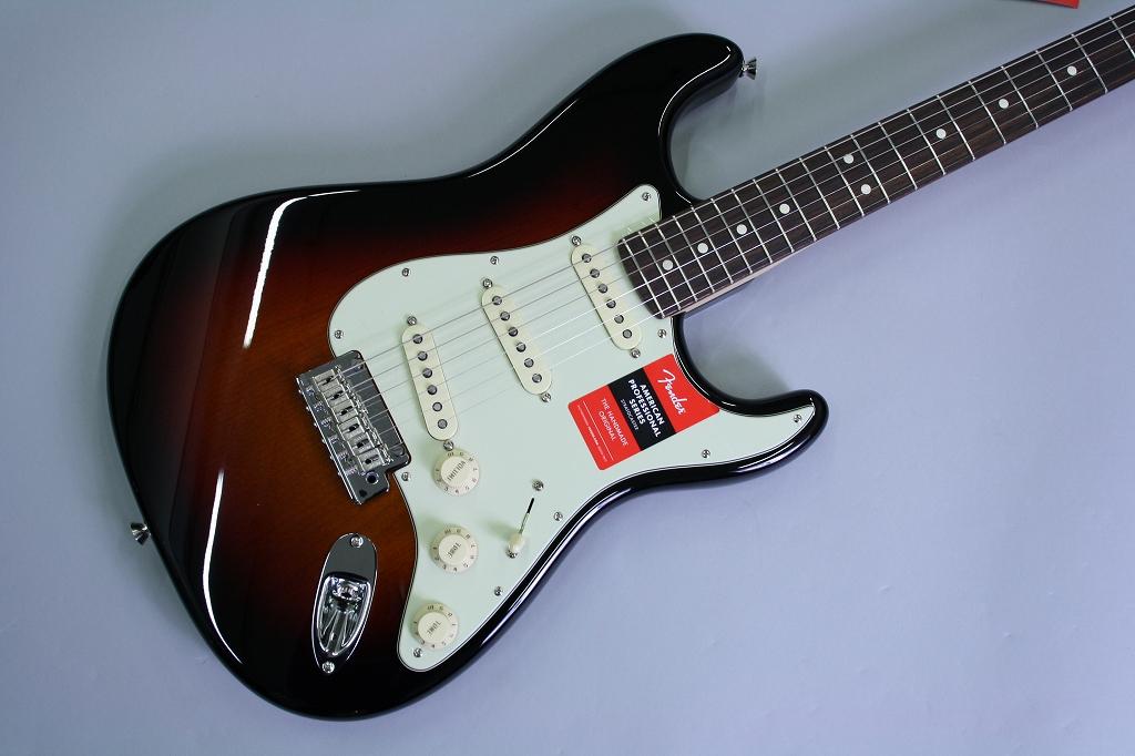 American Pro Stratocasterのボディトップ-アップ画像