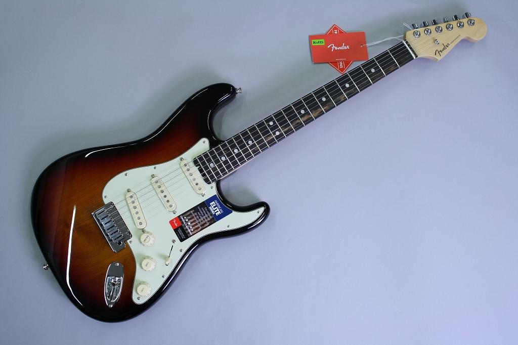 American Elite Stratocaster Ebony Fingerboard