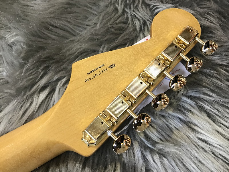 LIMITED EDITION CLASSIC SERIES '50s STRATOCASTER®のヘッド裏-アップ画像