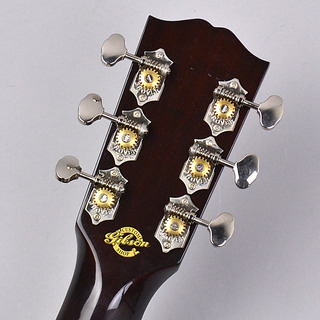 Custom Shop Adovanced Jumbo 12Fretのヘッド裏-アップ画像