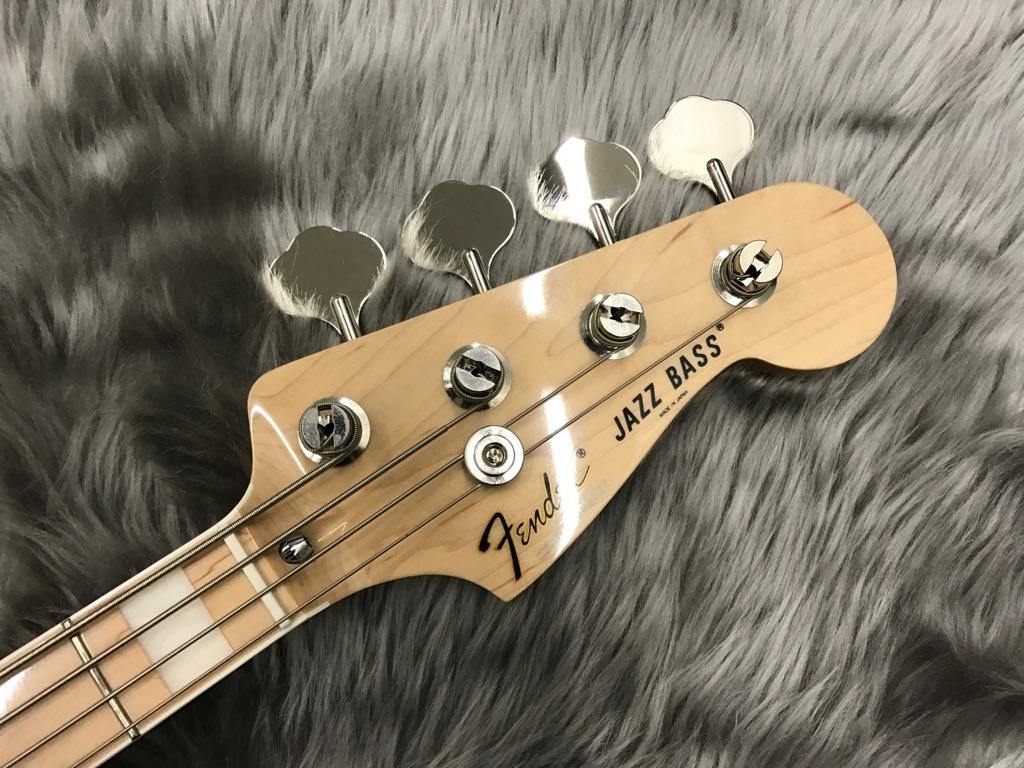 Japan Exclusive Classic 70s Jazz Bass Nat/Mのヘッド画像