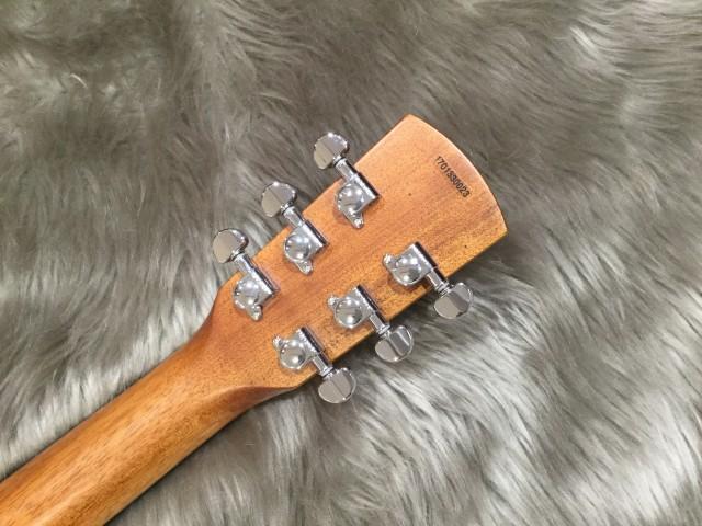 Dobro Hound Dog M-14 Metal Bodyのヘッド裏-アップ画像