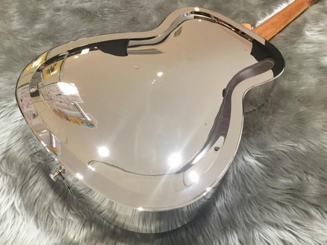 Dobro Hound Dog M-14 Metal Bodyのボディトップ-アップ画像