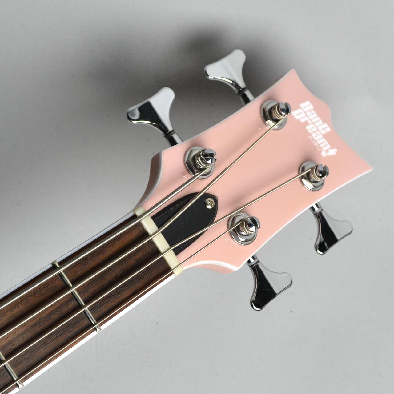 VIPER BASS Rimi ESP×バンドリ! ヴァイパーベース 牛込りみモデル ベースのボディバック-アップ画像