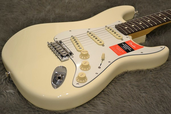 American Professional Stratocaster Rosewood Fingerboardのボディトップ-アップ画像