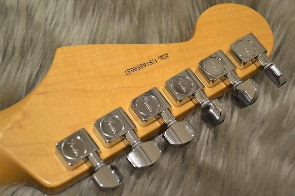 American Professional Stratocaster HSS Shawbuckerのヘッド裏-アップ画像