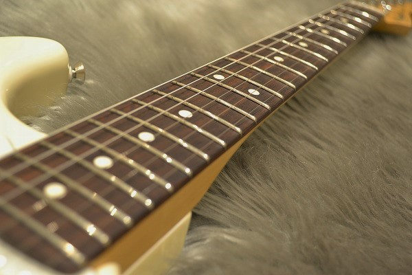 American Professional Stratocaster Rosewood Fingerboardの指板画像