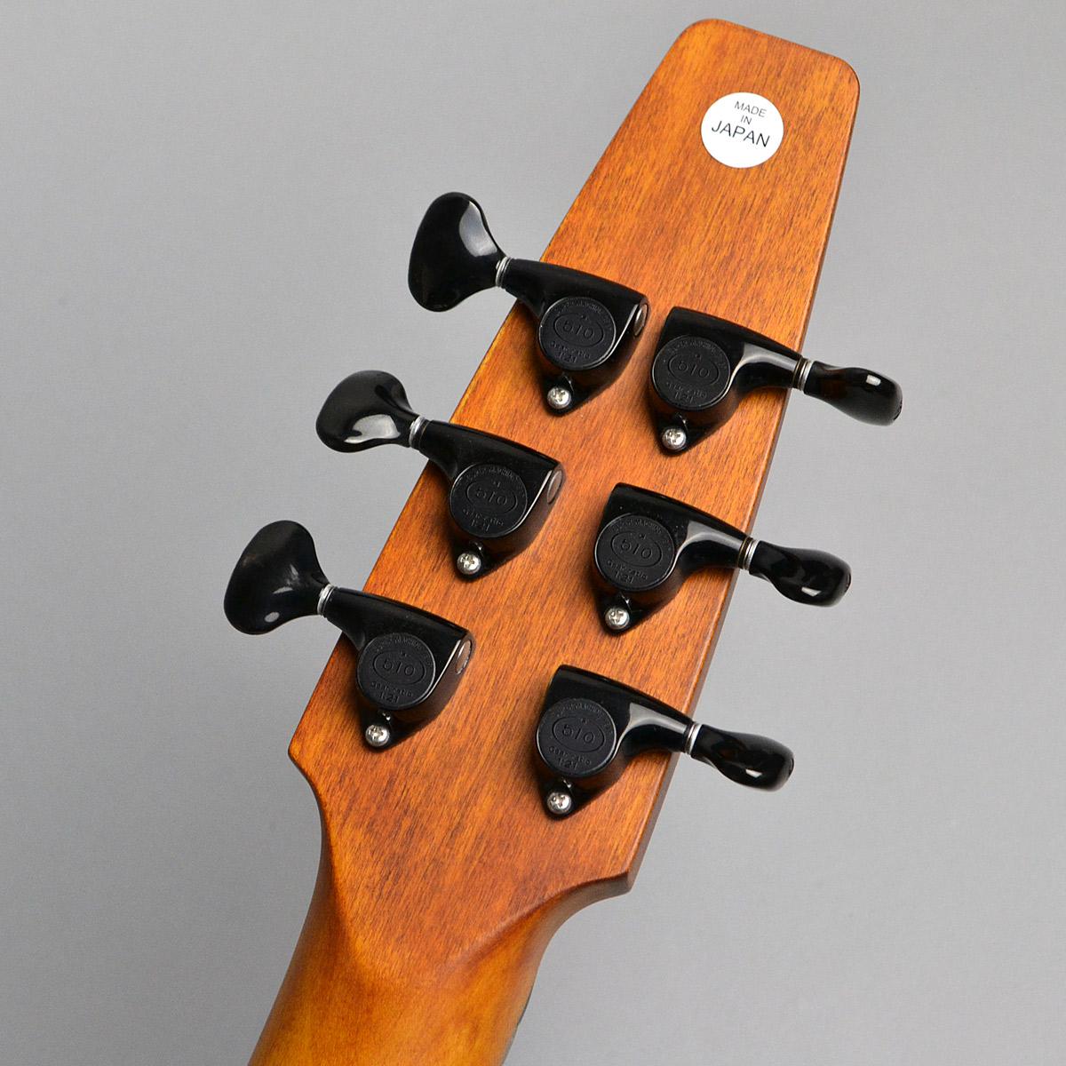 GALAXY Guitar 6stのヘッド裏-アップ画像