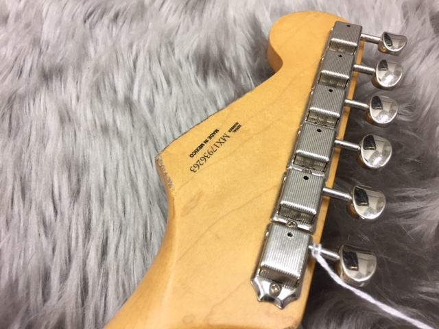 ROAD WORN® '60S STRATOCASTER®の指板画像