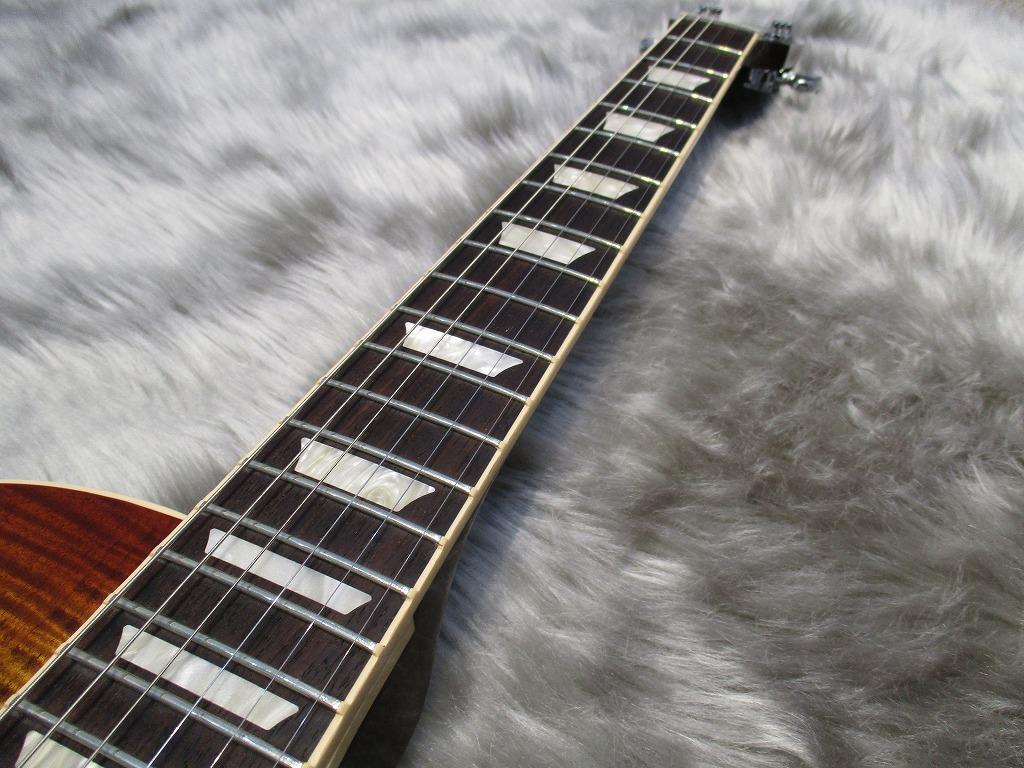 Gibson Les Paul Standard T 2017 Bourbon Burstの指板画像
